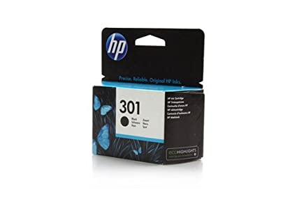 HP 301 Black Ink Cartridge - Cartucho de Tinta para ...