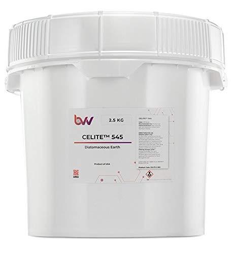 BVV Celite 545 Diatomaceous Earth- 2.5 Kilogram by BEST VALUE VACS