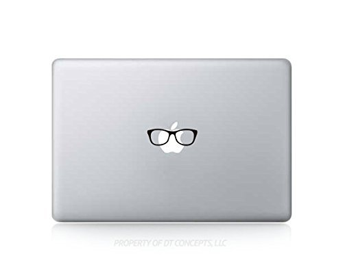 Funny Nerd Glasses Sticker Decal For MacBook Pro, PC, Laptop, Window, Car, or - Nerds For Glasses