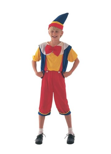 Pinocchio Puppet Childs Fancy Dress Costume S (Pinocchio Womens Costume)