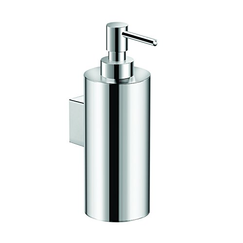 COSMIC Architect Soap Dispenser, Wall Mount, Brass Body, Chrome,Finish 2-7/16 x 7-3/16 x 4-3/16 Inches (2050103) by DAX