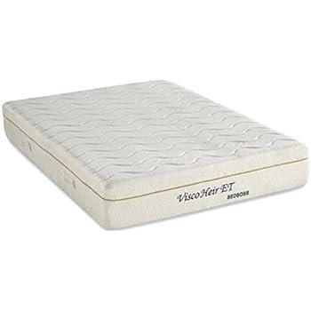 Amazoncom memory foam plush mattress the bed boss for Bed boss visco elite