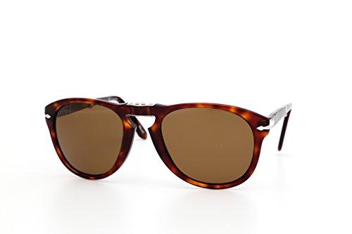 Brown Gafas Persol Havana Marrón Sol 57 0714 de Mod 24 zqdUfOqw