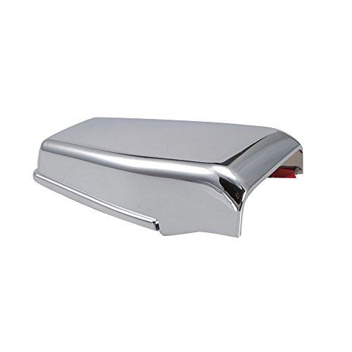 Premis Chrome Rear Window Liftgate Hinge Trim Cover for Jeep Wrangler JK 07-16 (Pack of 2)