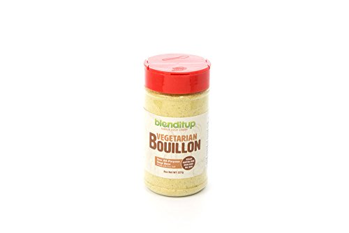 Vegetarian Bouillon Powder With Spices And Seasonings For Soups, Vegetable Broth & Vegetarian Food - Vegan, Gluten Free, NO MSG, GMO FREE, Low Sodium, Sea Salt - Kosher - 227gm (Vegan Vegetable Soup)