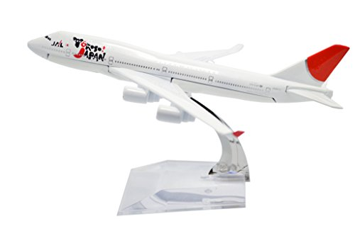 TANG DYNASTY(TM) 1:400 16cm Boeing 747-400 Japan Airline Metal Airplane Model Plane Toy Plane Model
