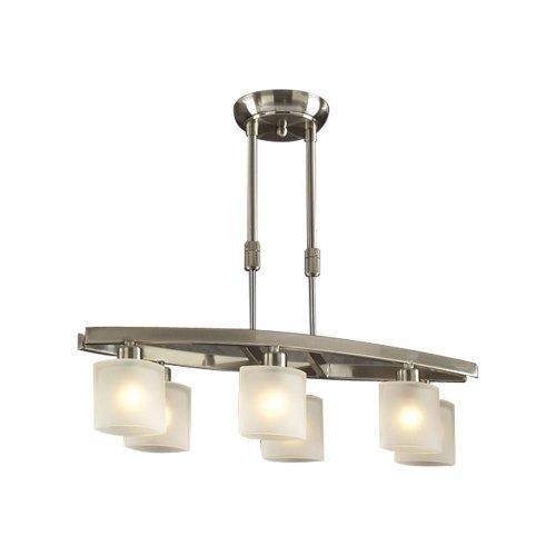 Wyndham 6 Light Pendant (Frost Bronze Table Lamp)