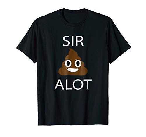 Emoji Shirt Sir Poop Alot Emoji Funny Shirt Poop Emoji Shirt]()