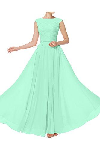 Abendkleider Einfach Damen Ivydressing Promkleider A Spitze Ballkleid lang Sage Linie Festkleid wTtqUqA