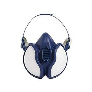 3M FFA1P2 4251C Respiratore per Gas e Vapori a Semimaschera, Bianco 3 spesavip