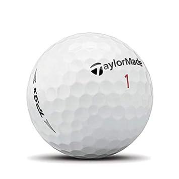 TaylorMade TP5x Golf Balls, White One Dozen