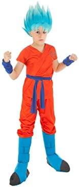 Generique - Disfraz Goku Dragón Ball Z niño 9 a 10 años ...
