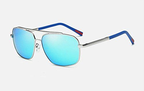 B de lunettes métal en polarized Grosses lunettes Armature Mens soleil zwqBPqC