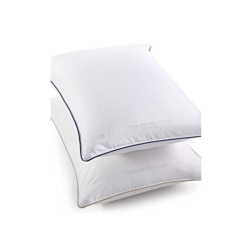 Image of Charter Club Vail Elite Soft Density Standard/queen Down Pillow Bedding Home and Kitchen