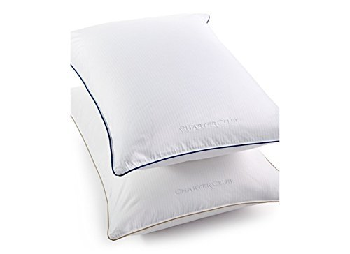 Charter Club Vail Elite Soft Density Standard/queen Down Pillow Bedding