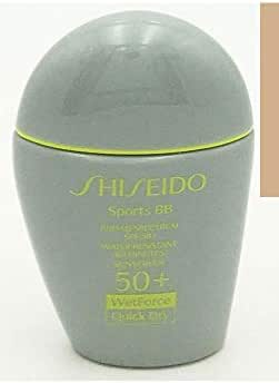 Shiseido Sports BB SPF 50+ (Medium) 30ml / 1oz WetForce Quick Dry Water Resistant (80 mins) Sunscreen