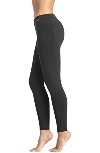 Gwinner Classic Leggings with Back Pockets - X-Large - Black ()