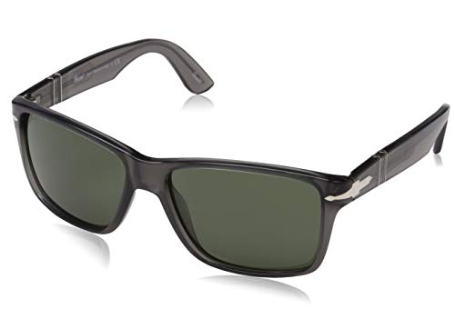 Persol PO3195S 105031 Grey PO3195S Rectangle Sunglasses Lens Category 3 Size ()