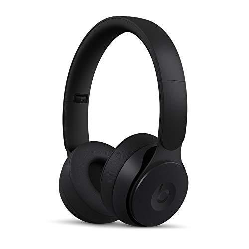 BeatsSoloPro con cancelación de ruido – Auriculares supraaurales inalámbricos – Chip Apple H1, Bluetooth de Clase1, 22horas de sonido ininterrumpido – Negro