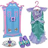 : Disney Princess: Cinderella Armoire with Ariel Dress-Up Set
