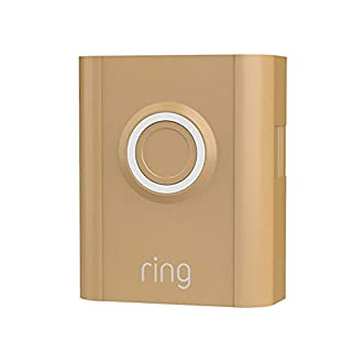 Ring Video Doorbell 3 and Ring Video Doorbell 3 Plus Faceplate - Mustard