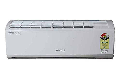 Voltas 1.4 Ton 3 Star Wi-Fi Inverter Split AC with Amazon Alexa (Copper, 173VWZJ, White)