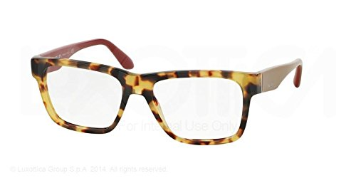 Prada Voice Eyeglasses PR16RV 7S01O1 Light Havana 53 16 140 -
