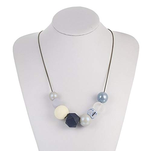 Collana Ciondolo Gioielli B Perline Per Femminile Geometrici Donna Yayoushen Accessori Acrilico ExwFpqq86
