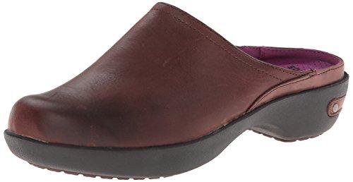 Crocs Kvinna Skomakare 2,0 Läder Täppa Mahogny / Svart