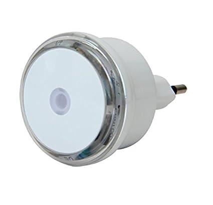 Electraline 58307 - Led Night Light, lámpara nocturna con sensor detector crepuscular