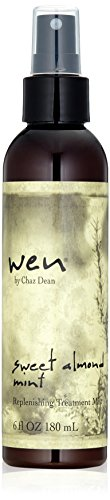 WEN by Chaz Dean Sweet Almond Mint Replenishing Treatment Mist, 6 Fl Oz