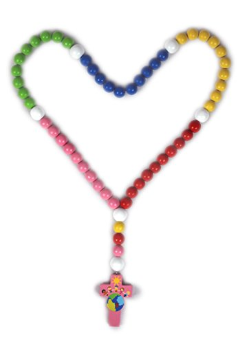 My First Rosary - Light of the World Collection (Pink)]()