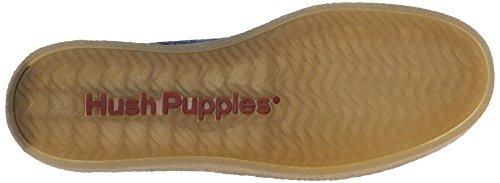 Hush Puppies Mens Gregory Aquaice Slip-on Loafer Mörkblå Suede / Canvas