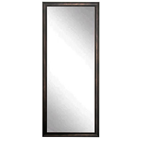 BrandtWorks BM013TS Clouded Bronze Floor Mirror, 64 x 30