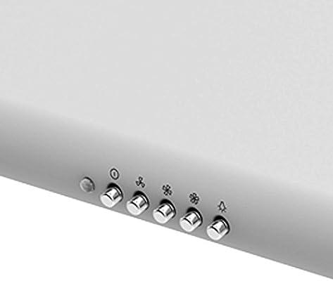 electriQ 60 cm blanco trasero de ventilación convencional para campana extractora: Amazon.es: Hogar