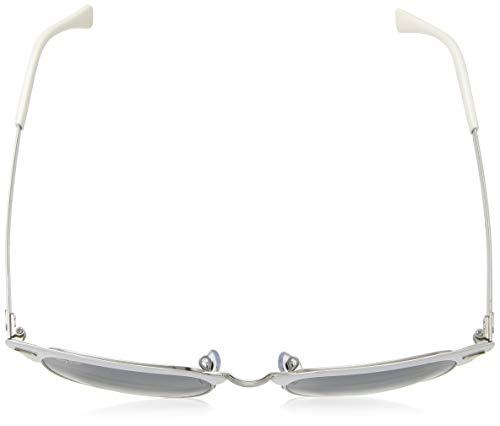 7540cec411 Ray-Ban CLUBMASTER METAL RB 3716 SILVER WHITE BLUE SHADED unisex Sunglasses   Amazon.com.au  Fashion