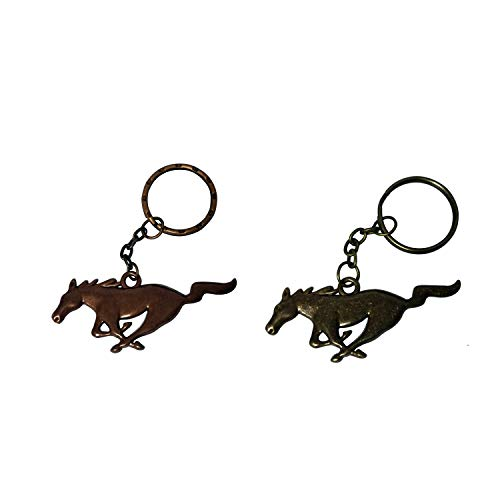West Bond 2pcs Running Horse Pony Antique Copper Antique for sale  Delivered anywhere in USA
