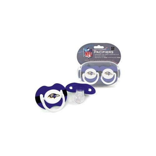 Amazon.com : NFL Baltimore Ravens 2 Pack Pacifier : Baby Pacifiers ...