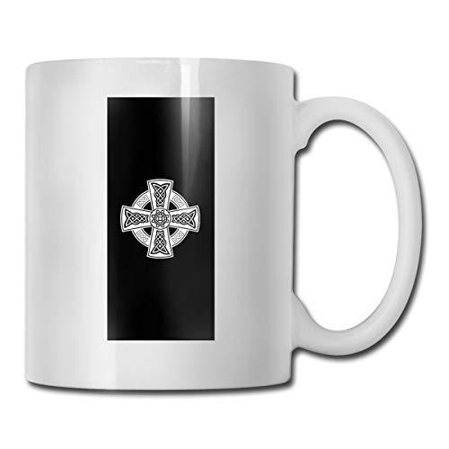 Celtic Cross Ancient Celtic Symbols CUPS 11OZ Printed Design Funny Coffee Mug Tee Cup