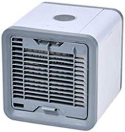 ミニエアコンファンエアコンファン充電することができます冷たい空気ミュートポータブルエアクーラー小さな寮のミュート大きな風オフィステーブル加湿冷却空気クーラー (Color : A, Size : 16.6*16.6*17.1cm)