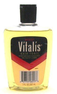 Vitalis Hair Tonic 7 oz. (3-Pack) with Free Nail File (Tonic Nail)