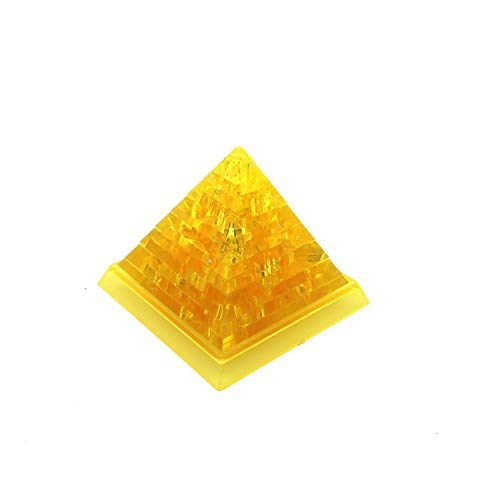 3d Pyramid Puzzle - NEW FEEL Thermolove 3D Decoration Model Toy Crystal Puzzle Game Toy - Pyramid