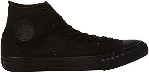 Uppers Taylor Star and High All and Durable Converse Sneakers men Size Classic Chuck Canvas Unisex Color Top Style Casual Black in TwxqIES6