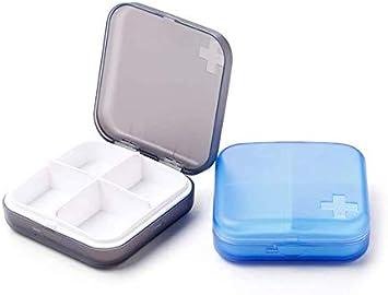Caja De Pastillas Portátil Caja De Medicamentos Pastilla Para ...