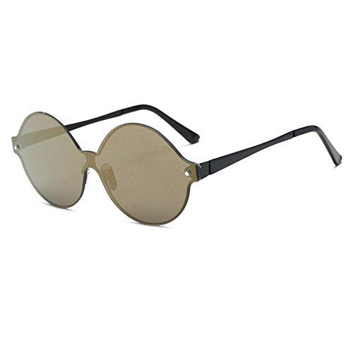 moda gafas gafas altos brillante E grandes Gafas europeos las color damas sol marco y sol de de de Aoligei hombres de americanos de de wTqBfzY