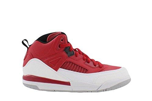Jordan Spizike BP Preschool Basketball Shoes Gym Red/Black/White/Wolf Grey 317700-603 (2 M US) - Nike Air Jordan Fusion
