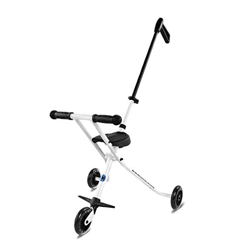 WYNZYYESTC Trolley De Tres Ruedas Para Bebés, Tricley Simple, Triciclo Triciclo Adecuado Para Más De 3 Años De...