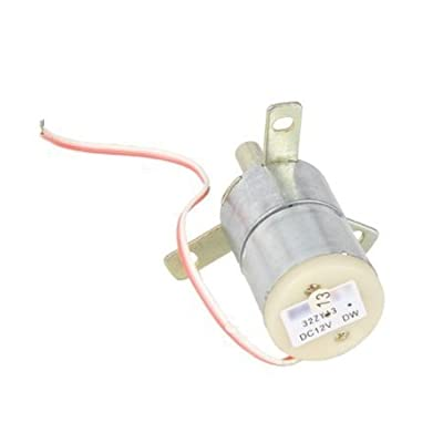 DN High Torque 12V DC 25 RPM Gear-Box Stabilivolt Electric Motor Replacement
