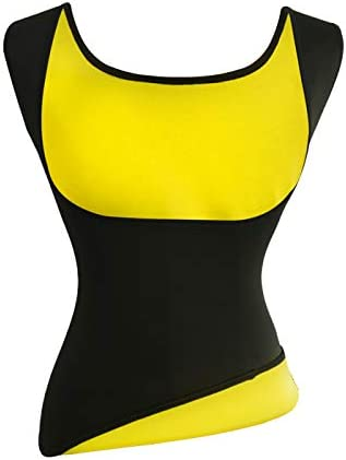 Women's Hot Sweat Slimming Neoprene Shirt Vest Body Shapers for Weight Loss Fat Burner Tank Top 1