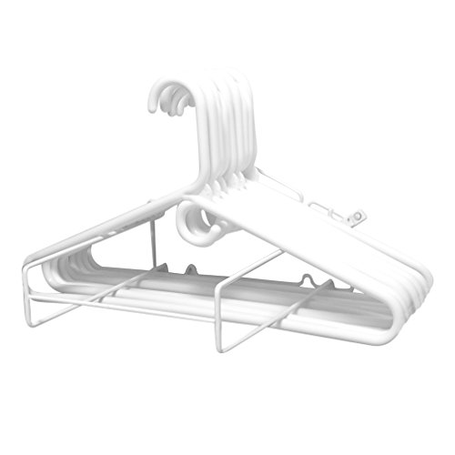 Evelots Wall Mounted Clothes Hanger Organizer, Closet and Laundry Storage Organization